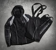 When the storm clouds rip open, stay the course in the Skull Rain Suit. This high-performance gear is fabricated from heavier nylon for more durability in all kinds of weather. Double taping seams in critical areas adds even greater protection from leaks and drips. The mesh lining and improved breathability help ensure more comfort inside our motorcycle rain suit. It all comes together in overall greater waterproofness. We should know; we rain-chamber tested it. And we put our money where…