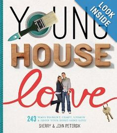 Young house love : 243 ways to paint, craft, update & show your home some love / Sherry & John Petersik. --- This book is filled with hundreds of fun, deceptively simple, budget-friendly ideas for sprucing up a home. Young House Love, Do It Yourself Wedding, Do It Yourself Home, This Is A Book, Love Book, Cool Diy, Clever Diy, Easy Diy, Thing 1