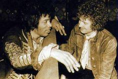 FacebookJimi Hendrix , Eric Clapton