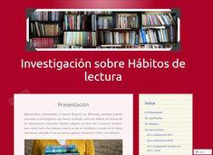 MENCIÓN EXTRAORDINARIA -  Investigación sobre hábitos de lectura - Equipo Habitos16. Colegio Estudio (Madrid). 4º ESO. Coordinado por Alba Torrego González Alba