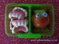 WOW!!! Frozen Yogurt Teeth for Halloween Lunchbox