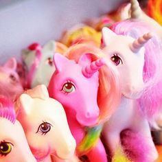 My little pony...I LOVED these as a little girl!!