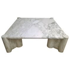 "Gae Aulenti ""Jumbo"" Marble Table 
