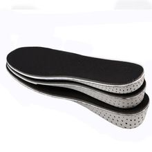 Man women Memory Foam Height Increase Insole Heel Lift Insert Taller Insole Shoe Pad Soles Shoe Cushion Elevator for foot care(China (Mainland))