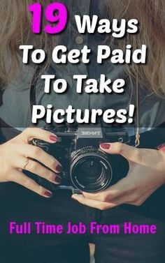 Photography Jobs Online - Photography Jobs Online - Check out these 19 sites that will pay you to take pictures! Upload your photos for sell, take specific pictures from buyers request, and make money for your photos!