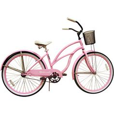 Bikes With Baskets For Women Wahine Women s Bike Pink