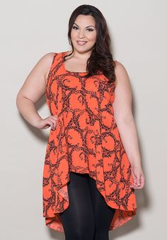 This site has super cute plus size clothes. I'm in love with this top. | Swakdesigns.com