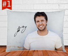 Luke Bryan Pillow Case...@sarbear2016 you're getting this for your birthday