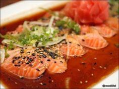 Tiradito de salmon Nikkei