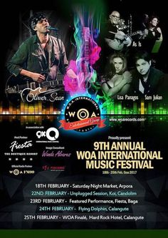 Episode 6 see's the 4 artists of the 9th Annual WOA International Music Festival making an appearance on the show iwth a live sound byte! A must listen. We have some amazing songs on the show today including New York by WOAFM99 host Oliver Sean, Gee Baby b...