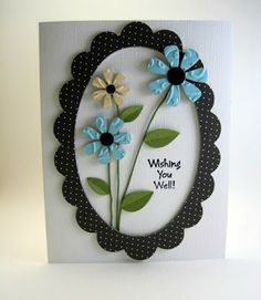 Love frame effect with 3D flowers