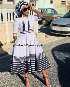 Sotho Traditional Dresses, South African Traditional Dresses, Xhosa Attire, African Attire, Latest African Fashion Dresses, African Dresses For Women, African Women, Zulu, Shweshwe Dresses