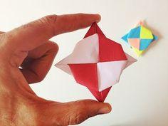 "Modular Action Origami - Paper ""Super Spinning Ninja Star Blade (12)"" - Spin it…"