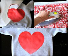 heart shirt for valentines day...cute!