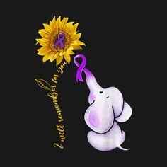 I Will Remember For You Sunflower Alzheimer's Awareness Tee - Sunflower Alzheimers Awareness - T-Shirt Dad Tattoos, Cute Tattoos, Tattoo Ink, Tatoos, Dementia Quotes, Alzheimers Quotes, Alzheimers Activities, Dementia Care, Alzheimer's Ribbon