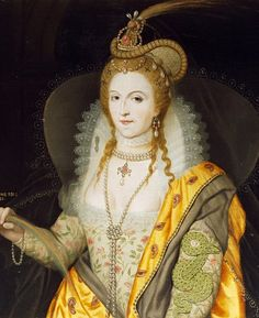 On this day 7th September,1533 the birth of Elizabeth I, daughter of Anne Boleyn and Henry VIII. She was Queen of England from 1558 to 1603 and was known as The Virgin Queen because she never married, being too shrewd to share power with a foreign monach