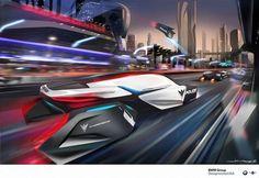 BMW design. The Police Car of 2025