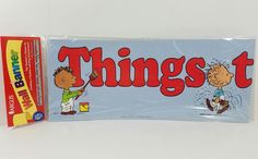 Peanuts Snoopy Argus Teachers Wall Banner Things Turn Out Better Together 10 ft