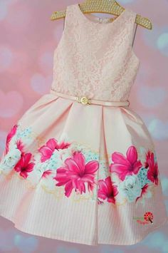Girls Fashion Clothes, Baby Girl Fashion, Kids Fashion, Little Girl Dresses, Girls Dresses, Flower Girl Dresses, Baby Kind, Birthday Dresses, Cute Baby Clothes