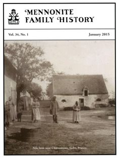 Mennonite Family History Back Issue