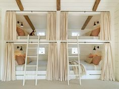 lake houses, bunk beds, beach houses, bunk rooms, guest houses, guest rooms, small hous, kid room, 4 kids