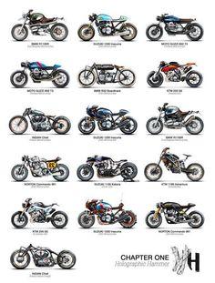 HARLEY DAVIDSON MOTORCYCLES POSTER ~ 30 EVOLUTION 24x36