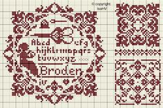 Isabelle Vautier cross-stitch - free