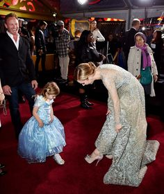 Lily James and Richard Madden at Cinderella Premiere Photos | POPSUGAR Celebrity