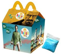 """""""Breaking Bad"""" Happy Meal By Newt Clements Breaking Bad, King Kong, Happy Meal Box, Arte Nerd, Cinema, Blu Ray, Cult Movies, Comedy Central, Cultura Pop"""