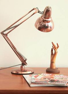 love this lamp....especially in rose gold
