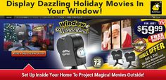 Window Wonderland is a projector that changes windows into a colorful holiday display. Does it work as advertised? Here is our Window Wonderland review.