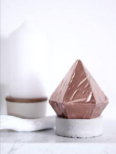 Diamonds are forever  Concrete Diamond in von MaisonChezKristel, €29.00