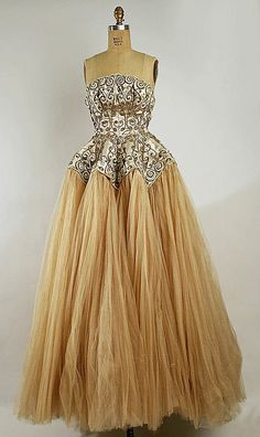 1950's  Luscious Balenciaga gown