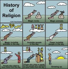 The History of Religion, From Magic Rocks to the Modern Day