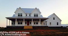 Country Home Plan With Marvelous Porches - 4122DB   Country, Farmhouse, Traditional, Photo Gallery, 1st Floor Master Suite, Bonus Room, CAD Available, Den-Office-Library-Study, Media-Game-Home Theater, PDF, Wrap Around Porch, Corner Lot   Architectural Designs