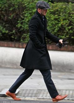 David Beckham embraces the dapper English gentleman look as he settles back into life in the UK | Mail Online