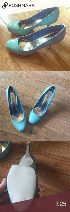 New never worn Madden Girl mint high heels size 7 New in box Madden Girl mint high heels. Size 7. Very cute Madden Girl Shoes Heels