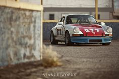 "Porsche 911 ""277"" - By Mike Burroughs"
