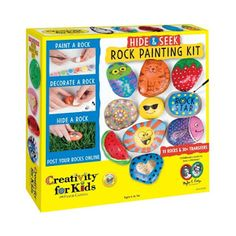 Review This!: Reviewing Hide & Seek Rock Painting Kit by Creativ...