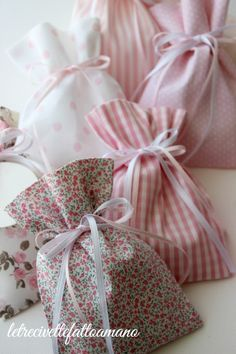 portaconfetti - favors Gift Hampers, Jute, Lavender, Gift Wrapping, Baby Shower, Sewing, Artwork, Pink, Handmade