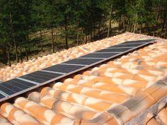 Paneles solares foto