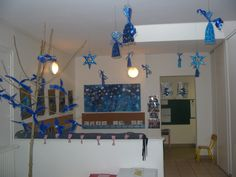 1000 images about ecole no l bleu on pinterest tapas for Decoration porte noel ecole