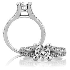 A. Jaffe Engagement Ring me1108