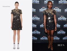 Danai Gurira In Valentino - 'Black Panther' Toronto Premiere - Red Carpet Fashion Awards