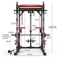 Homemade Gym Equipment, Diy Gym Equipment, No Equipment Workout, Fitness Equipment, Gym Fitness, Home Made Gym, Diy Home Gym, Gym Room At Home, Squat Rack Diy