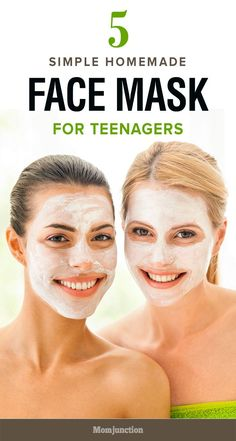 Is your teen worried about her skin? Here are some simple homemade face masks for teenage skin that promise to naturally nourish & revitalize the skin.