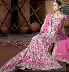#Indian #Wedding #Dress #Lehenga #Choli.. ~