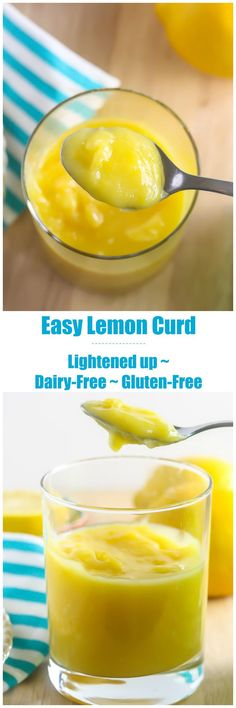 This Lemon Curd is lightened up, but still as delicious as the classic dessert spread. www.laurenkellynutrition.com
