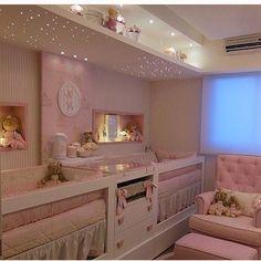 O quarto dos sonhos Inspiração retirada do IG @construindominhacasaclean