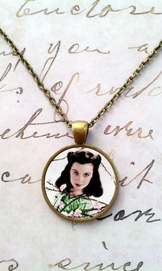 Love these! Gone With The Wind Necklace Rhett Butler by teaANDtentacles, $8.75